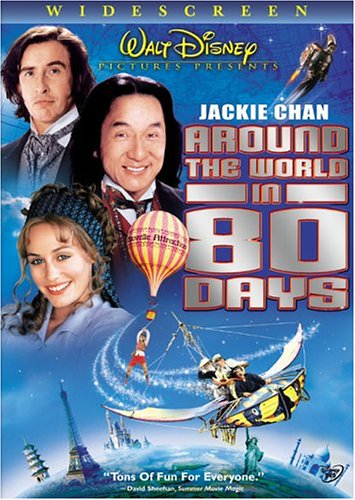 Around The World In 80 Days (2004/ Widescreen) DVD Image