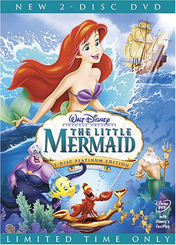 Little Mermaid (1989/ Limited Edition/ 2-Disc Platinum Edition) DVD Image