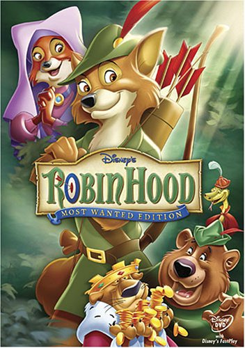 Robin Hood (1973/ Most Wanted Edition) DVD Image