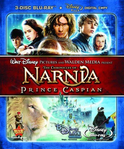 Chronicles Of Narnia: Prince Caspian (2008/ Blu-ray/ 3-Disc) DVD Image
