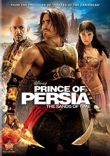 Prince of Persia: The Sands of Time DVD Image