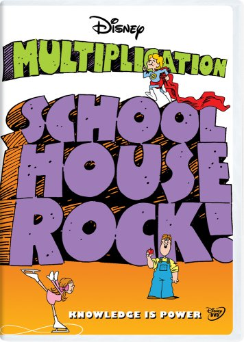 School House Rock! [Schoolhouse Rock!]: Multiplication (Classroom Edition) DVD Image