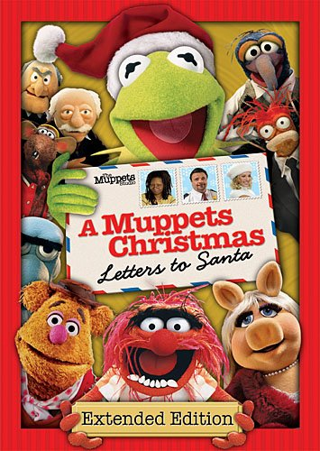 Muppets Christmas: Letters to Santa DVD Image