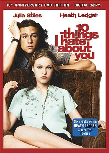 10 Things I Hate About You (Two Disc Special Edition - Includes DVD & Digital Copy) DVD Image