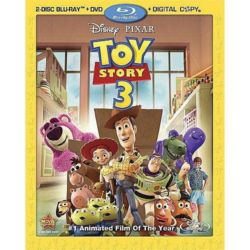 Toy Story 3 (Four-Disc Blu-ray/DVD Combo + Digital Copy) DVD Image