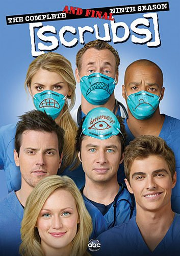 Scrubs: The Complete Ninth and Final Season DVD Image