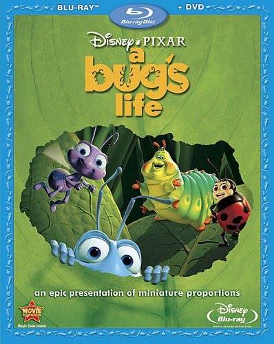 A Bug's Life (Two-Disc Blu-ray/DVD Combo) DVD Image