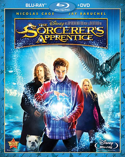 The Sorcerer's Apprentice (Two-Disc Blu-ray / DVD Combo) [Blu-ray] DVD Image