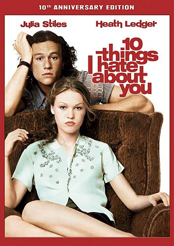 10 Things I Hate About You DVD Image