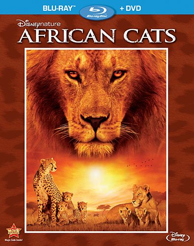 Disneynature: African Cats (Two-Disc Blu-ray/DVD Combo in Blu-ray Packaging) DVD Image