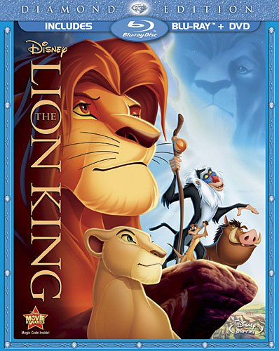 The Lion King (Two-Disc Diamond Edition Blu-ray / DVD Combo in Blu-ray Packaging) DVD Image