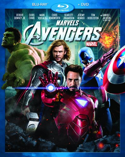 Marvel's The Avengers (Two-Disc Blu-ray/DVD Combo in Blu-ray Packaging) DVD Image
