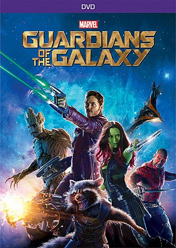 Guardians of the Galaxy DVD Image
