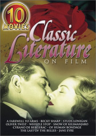 Classic Literature On Film (10-Movie Set): Farewell To Arms / Becky Sharp / Studs Lonigan / Oliver Twist / Whistle Stop / ... DVD Image