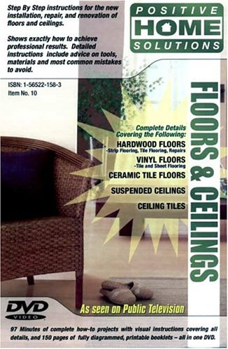 Floors And Ceilings: Home Remodeling DVD DVD Image