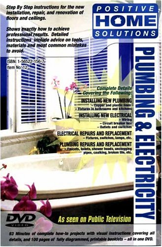 Plumbing And Electricity: Home Improvement DVD DVD Image