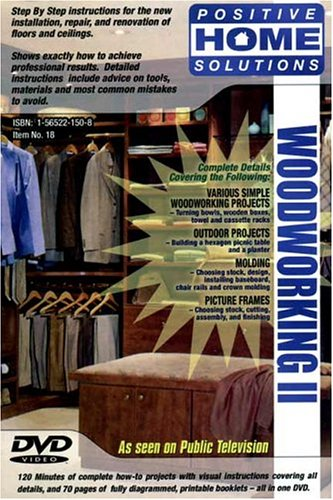 Woodworking, Vol. 2: Home Improvement DVD DVD Image