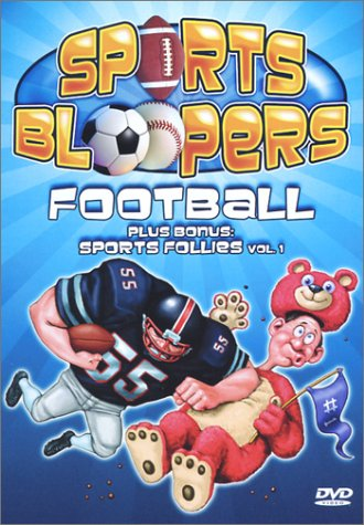 Sports Bloopers: Football DVD Image
