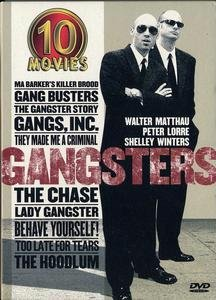 Gangsters: Ma Barker's Killer Brood / Gang Busters / Gangster Story / Gangs, Inc. / They Made Me A Criminal / The Chase / ... DVD Image