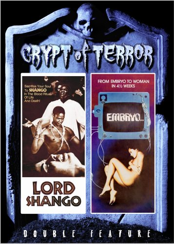 Crypt Of Terror Double Feature: Embryo / Lord Shango DVD Image
