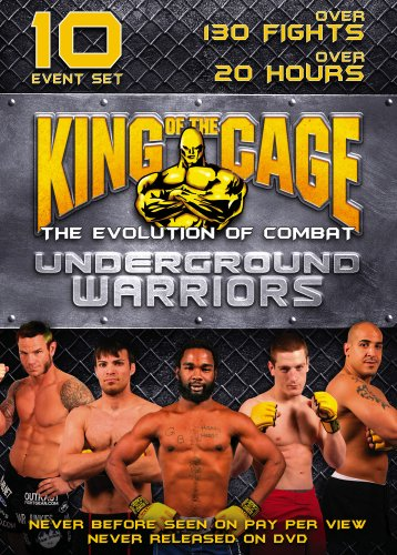 King Of the Cage: The Evolution Of Combat: Underground Warriors DVD Image