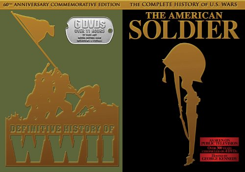 Definitve History Of WWII / The American Soldier DVD Image