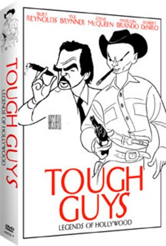 Legends Of Hollywood: Tough Guys: Vengeance Valley / God's Gun / Fighting Caravans / High Risk / They Made Me A Criminal / ... DVD Image