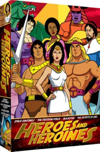 Heroes & Heroines: Space Sentinels / The Freedom Force / Blackstar / The Secrets Of Isis DVD Image