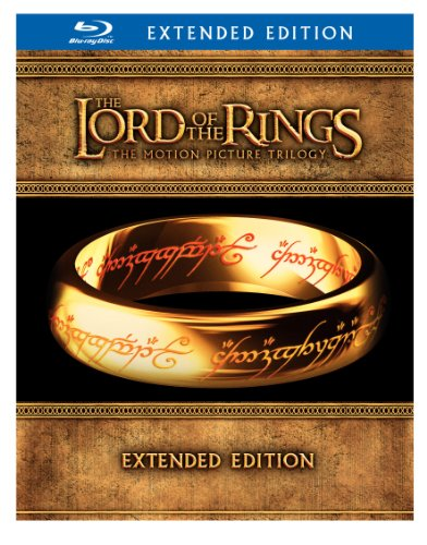 The Lord of the Rings: The Motion Picture Trilogy (Extended Edition + Digital Copy) [Blu-ray] DVD Image