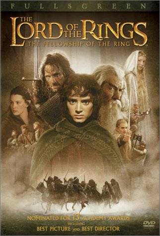 Lord Of The Rings: The Fellowship Of The Ring (Special Edition/ Pan & Scan) DVD Image