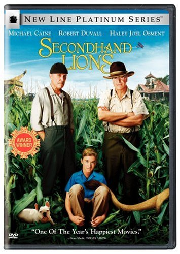 Secondhand Lions DVD Image