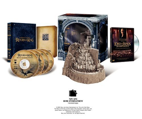 Lord Of The Rings: The Return Of The King (Extended Cut/ Special Edition/ Giftset) DVD Image