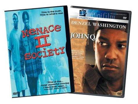 Menace II Society / John Q (Special Edition) (2-Pack) DVD Image