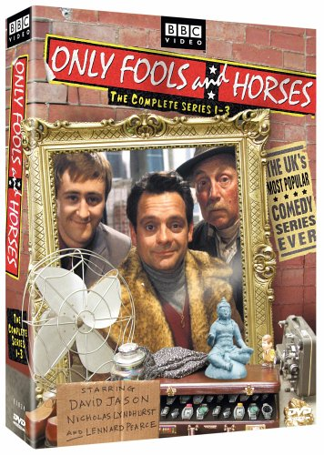 Only Fools And Horses: Complete Series 1 - 3 DVD Image