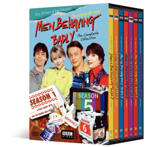 Men Behaving Badly: The Complete Series 1 - 7 DVD Image