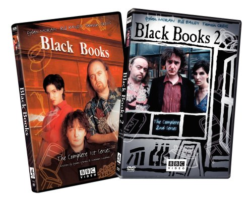 Black Books - The Complete First and Second Series DVD Image