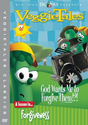 VeggieTales: God Wants Me To Forgive Them!?! (Warner Brothers) DVD Image