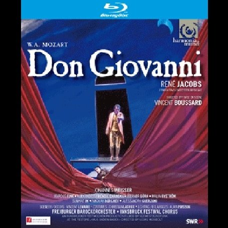 Mozart: Don Giovanni: Rene Jacobs / Sunhae Im (Blu-ray) DVD Image