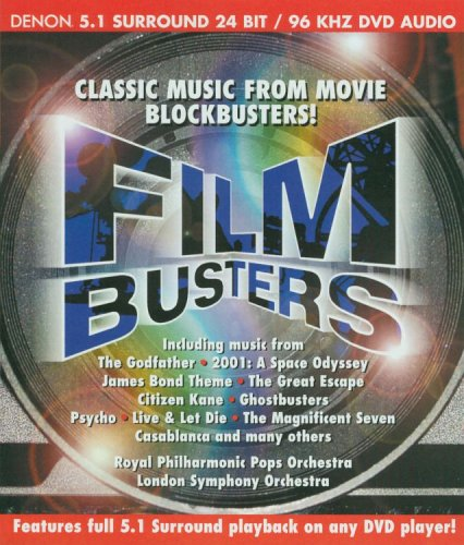 Film Busters: Film Busters (Audio-Only DVD) DVD Image
