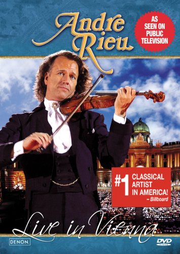 Andre Rieu: Live In Vienna DVD Image