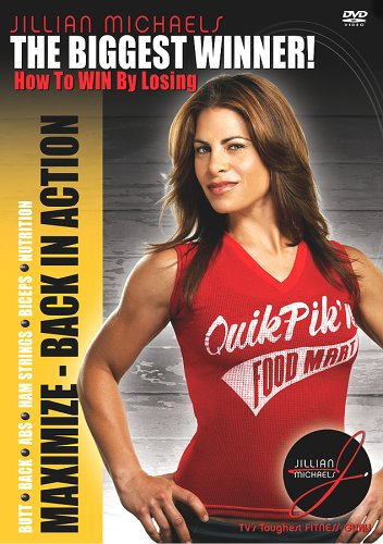 Jillian Michaels: Maximize Back in Action DVD Image