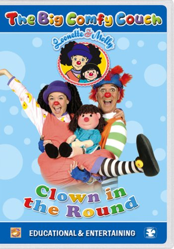 Big Comfy Couch (Genius Products), Vol. 1: Clown In The Round DVD Image