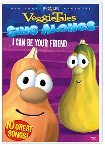VeggieTales Sing Alongs: I Can Be Your Friend (Genius Products) DVD Image