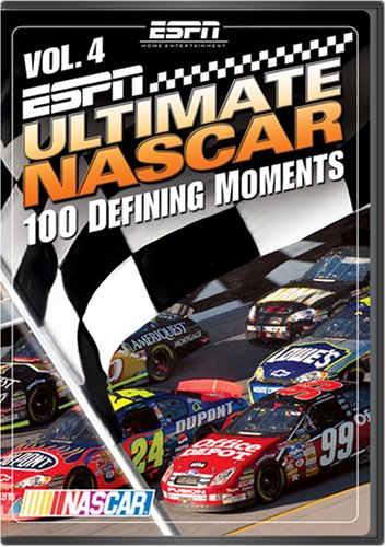 ESPN Ultimate NASCAR, Vol. 4: 100 Defining Moments DVD Image