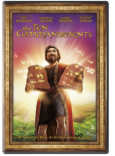 Epic Stories Of The Bible: The Ten Commandments DVD Image
