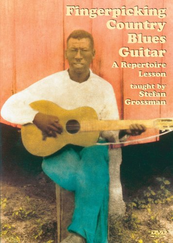 Fingerpicking Country Blues Guitar DVD Image