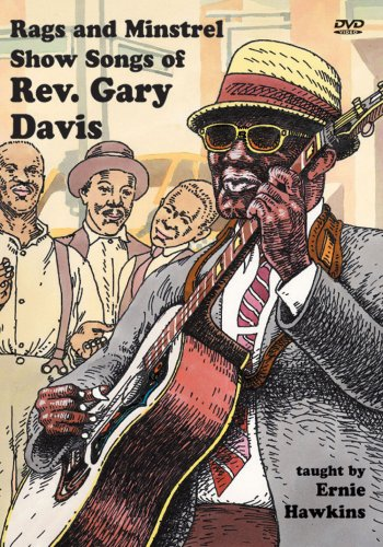 Rag And Minstrel Show Songs Of Rev. Gary Davis DVD Image