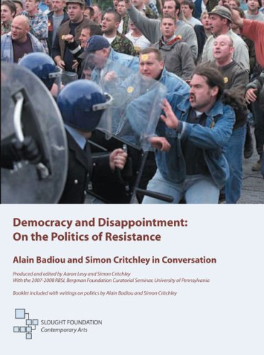Democracy And Disappointment: On The Politics Of Resistance DVD Image