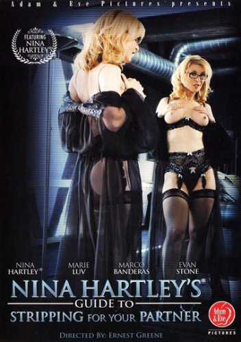 Nina Hartley's Guide To Stripping For Your Partner DVD Image