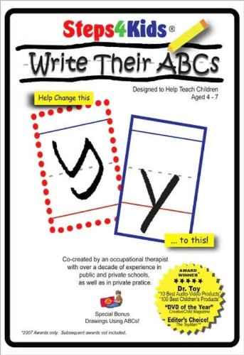 Steps4Kids: To Write Their ABCs DVD Image